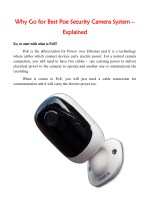 why why go for best poe security camera system