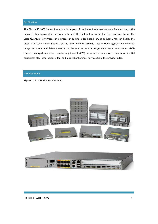 PPT - CISCO ROUTER ASR 1000 DATASHEET PowerPoint