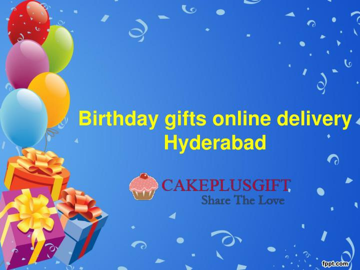 Birthday Gifts Online Delivery Hyderabad