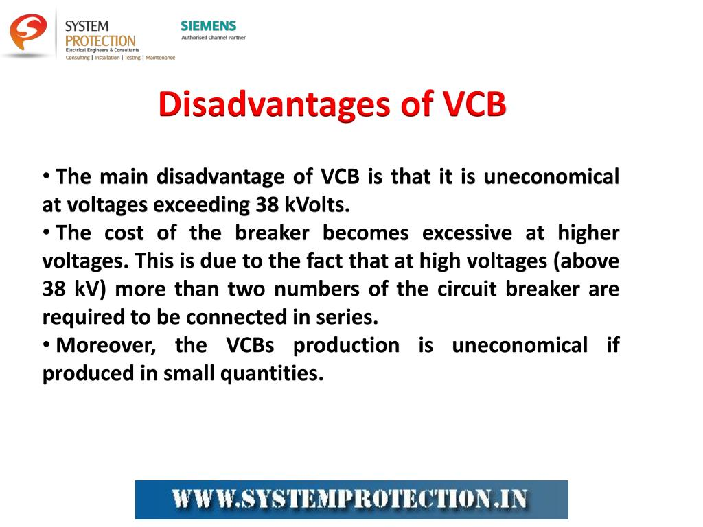 PPT - Vacuum Circuit Breaker (VCB) Working and Applications