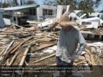 bill quinn surveys the damage caused