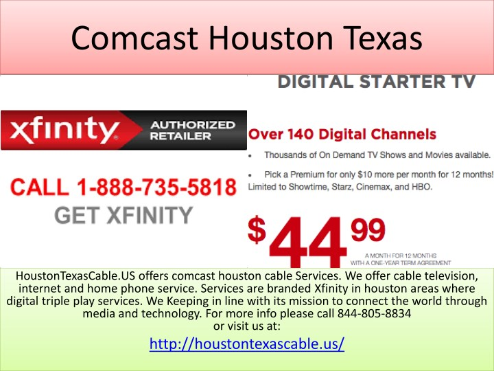 Ppt Comcast Houston Texas Powerpoint Presentation Id 7691219
