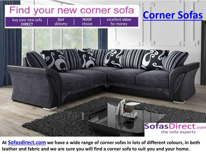 Ppt Corner Sofas Corner Sofas Beds Online Uk Sofas Direct