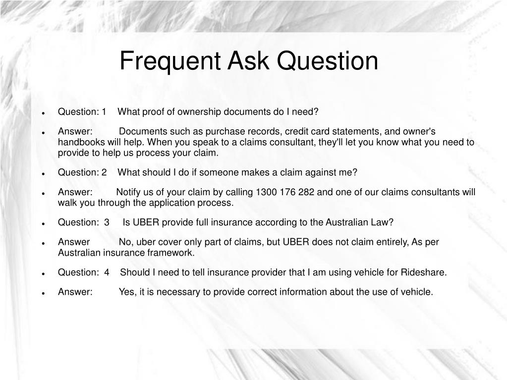 PPT - Car Insurance For Uber PowerPoint Presentation - ID:7691470