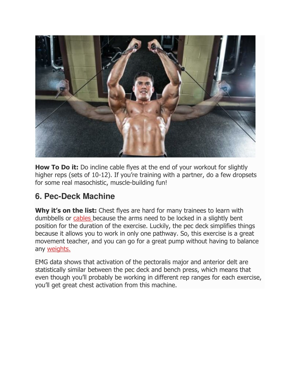 PPT - Best Chest Workout Tips PowerPoint Presentation - ID