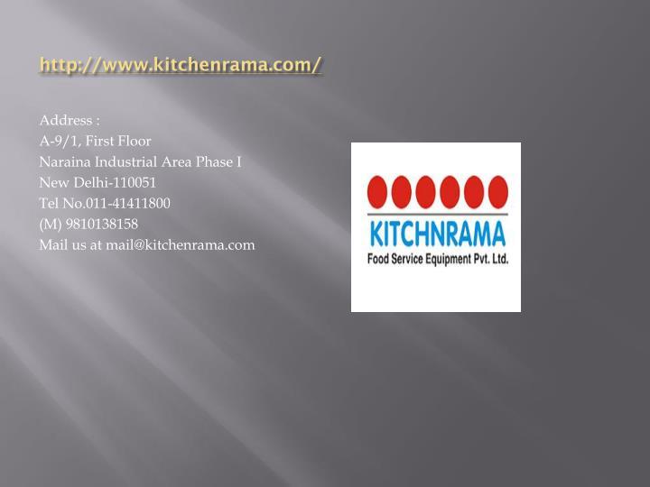 Http://www.kitchenrama.com/