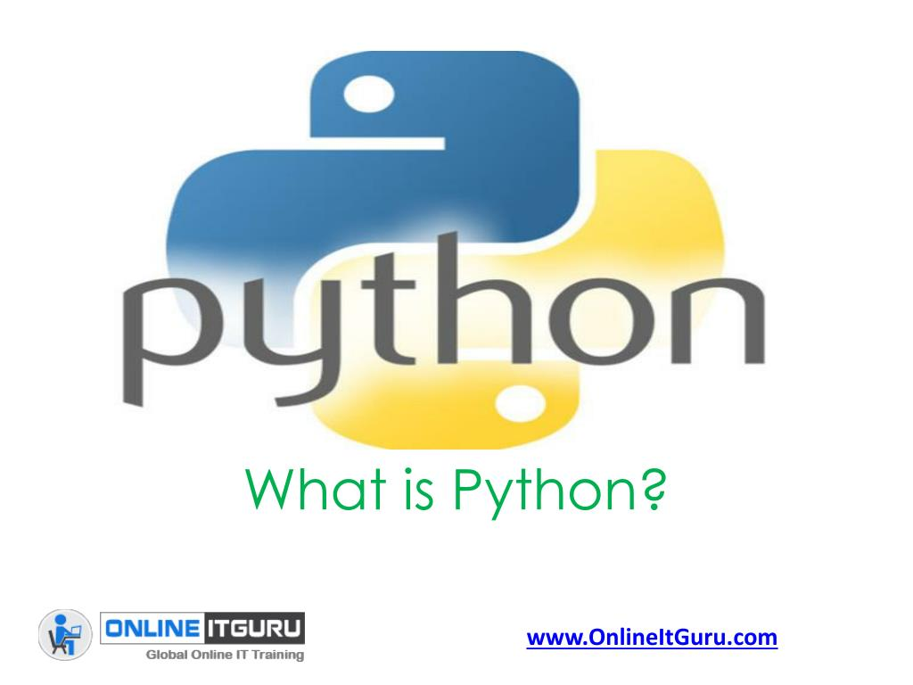 Ppt Free Tutorial Classes On Python Online Training Python