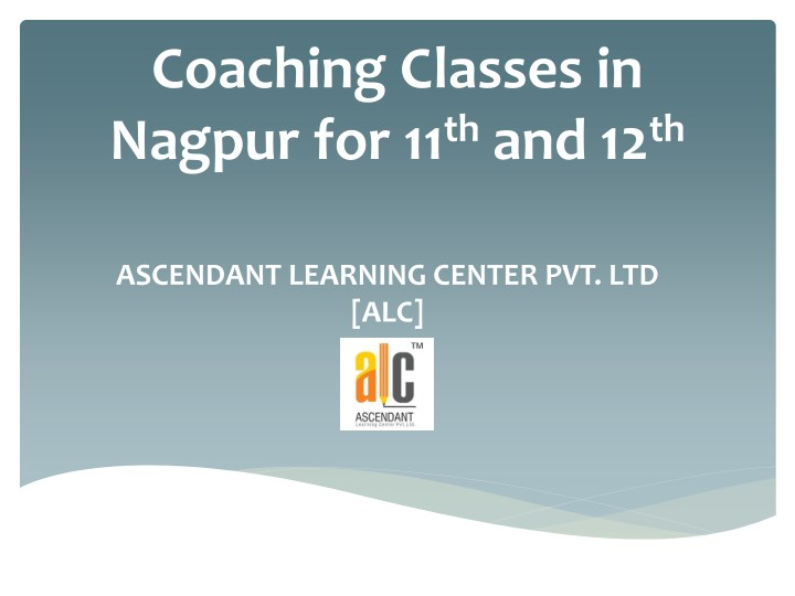 coaching classes in nagpur for 11 th and 12 th n.