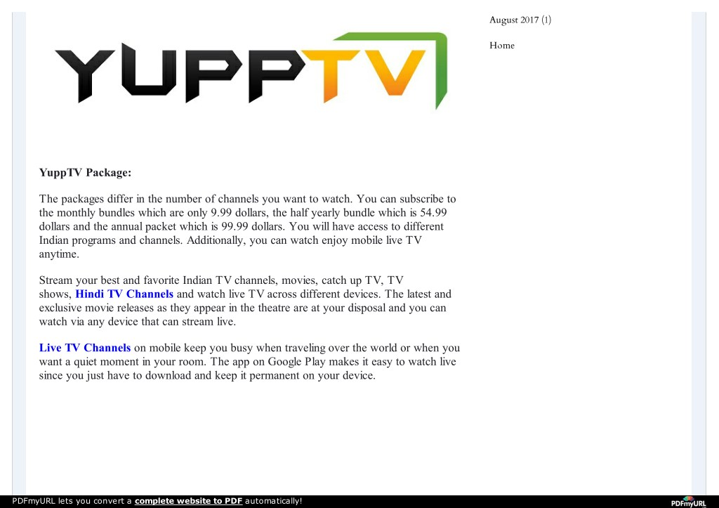 PPT - Indian TV Channels Live on YuppTV PowerPoint Presentation - ID