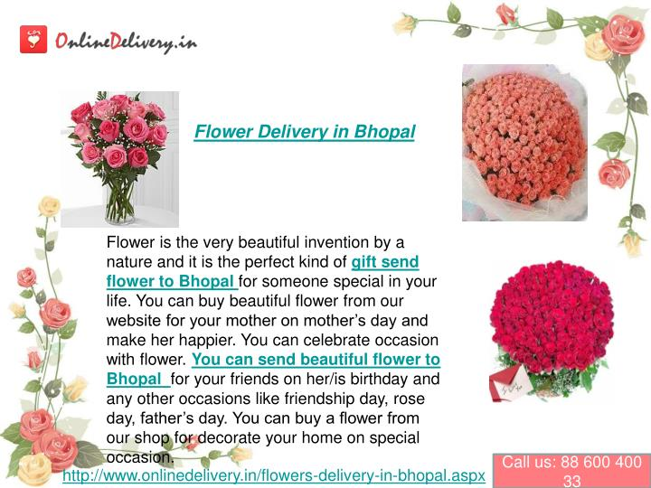 flower delivery in bhopal n.