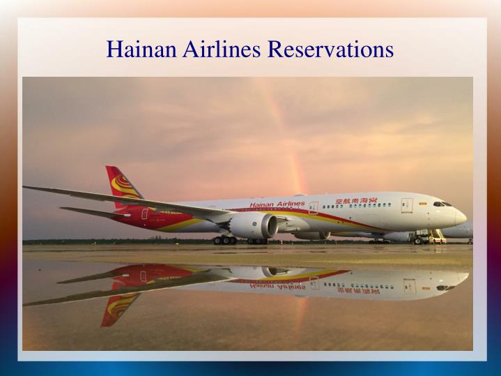 hainan airlines reservations n.
