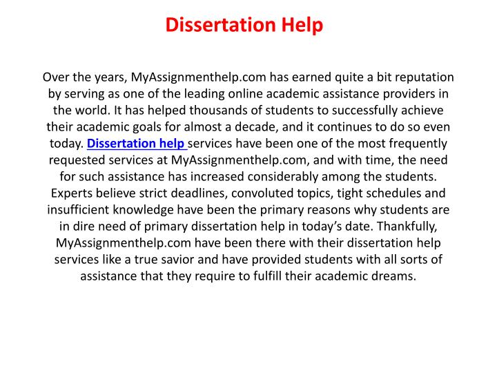 Buy Dissertation Papers Online From PhD Experts In Canada