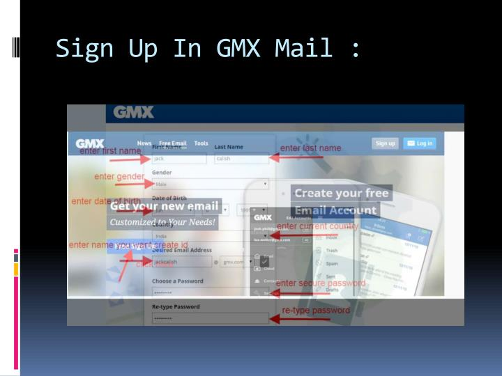 sign in gmx