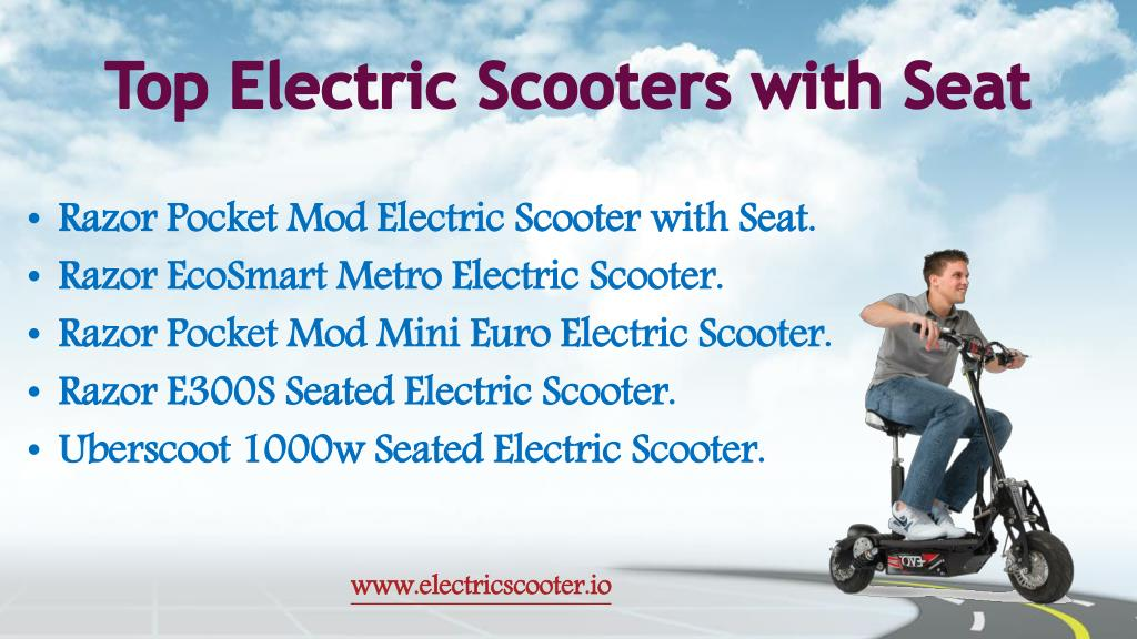 PPT - Best Electric Scooters PowerPoint Presentation - ID