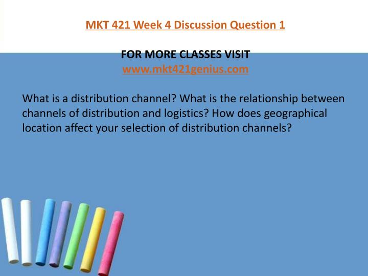what is a distribution channel what is the relationship between channels of distribution and logisti What is a distribution channel a set of interdependent organizations (intermediaries) involved in the process of making a product or service available for what is the relationship between channels of distribution and logistics how does geographical location affect your selection of distribution.