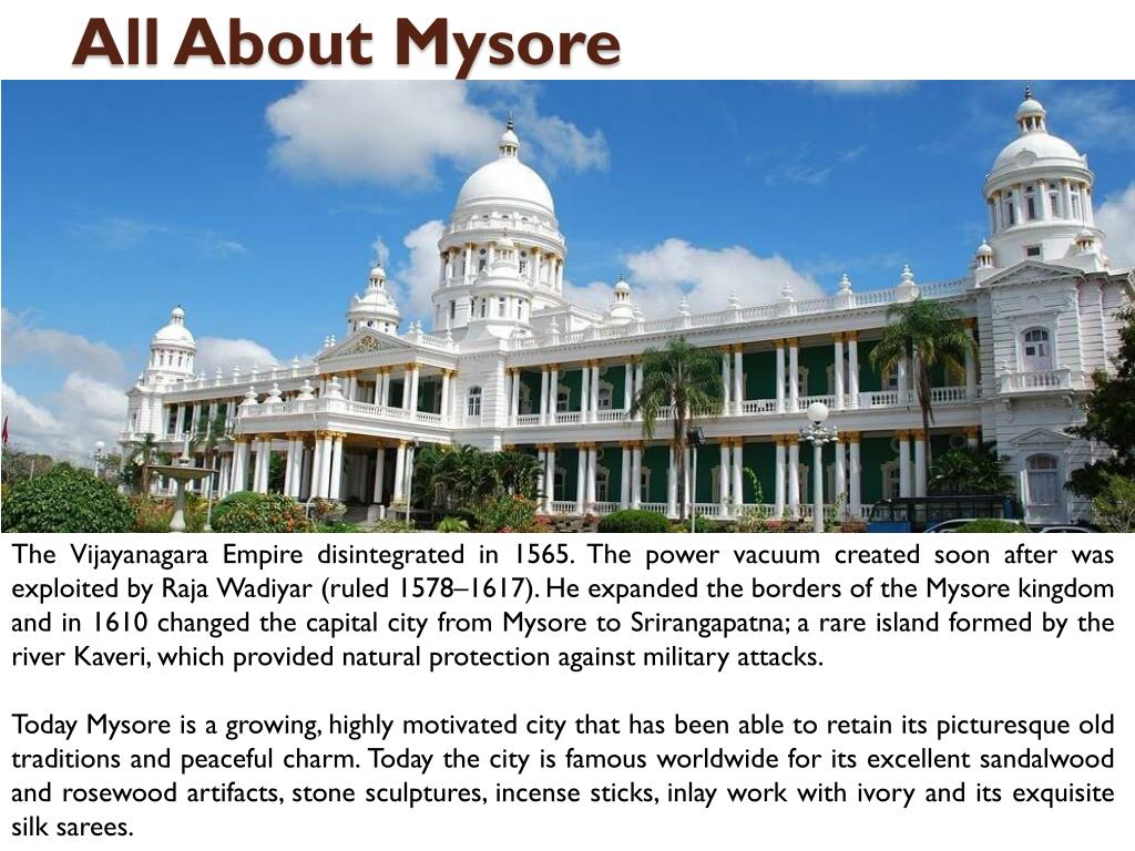 PPT - Reliable Mysore Tour Travel Guide PowerPoint Presentation - ID