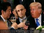 u s president donald trump and japanese prime