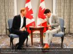 prince harry meets with canada s prime minister