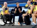prince harry speaks to athletes at the toronto