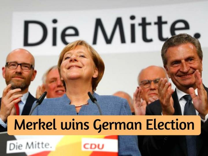 merkel wins german election n.