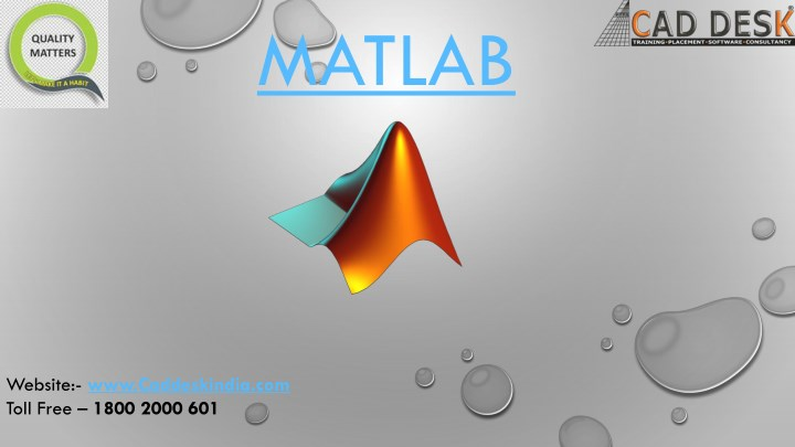 PPT - Matlab Course in Jaipur, India | MatLab Training