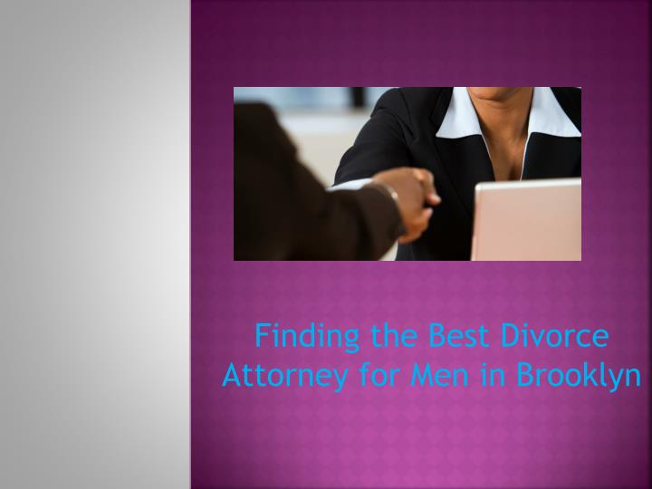 finding the best divorce attorney for men in brooklyn n.