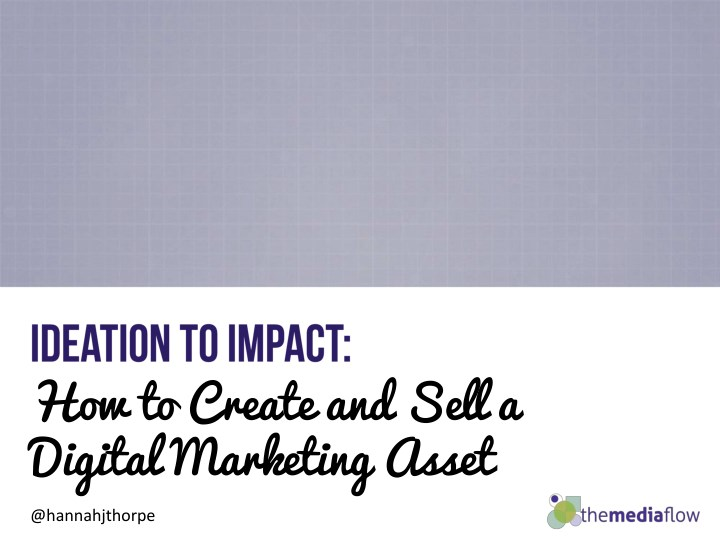 how to create and sell a digital marketing asset n.