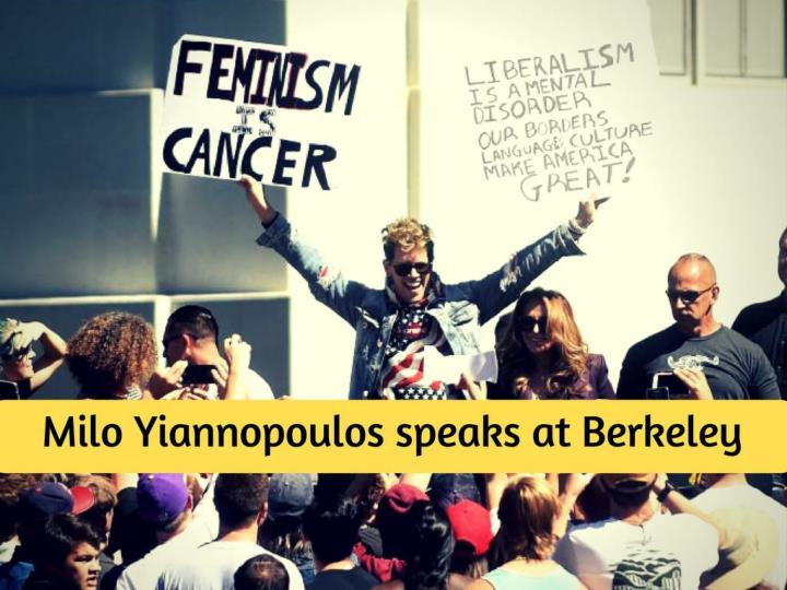 milo yiannopoulos speaks at berkeley n.