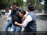 people react as a real quake rattles mexico city