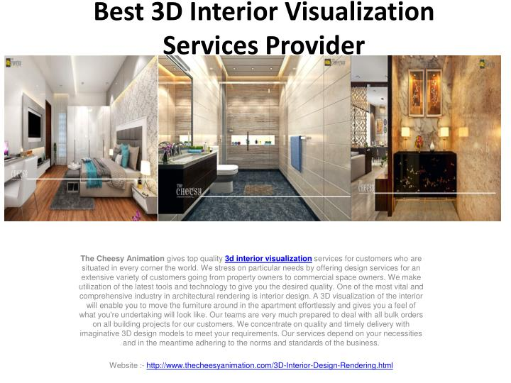 Ppt Best 3d Interior Visualisation Services Provider Powerpoint Presentation Id 7702168