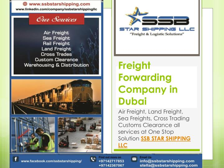 PPT - Freight Forwarders Company in Dubai PowerPoint Presentation