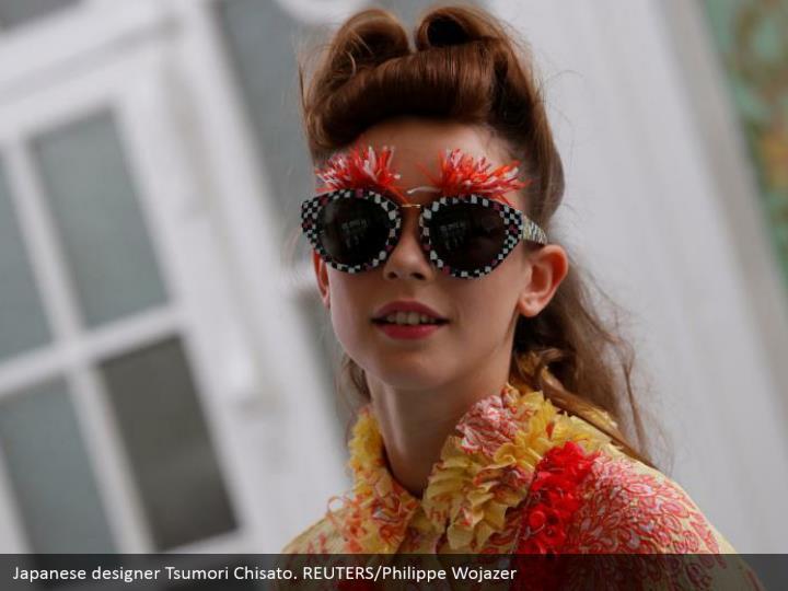 Japanese designer Tsumori Chisato. REUTERS/Philippe Wojazer