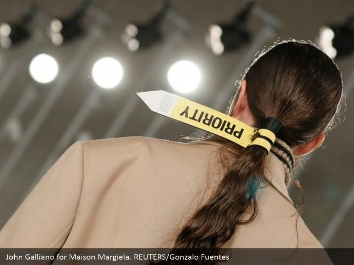 John Galliano for Maison Margiela. REUTERS/Gonzalo Fuentes