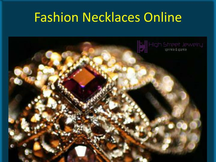 fashion necklaces online n.