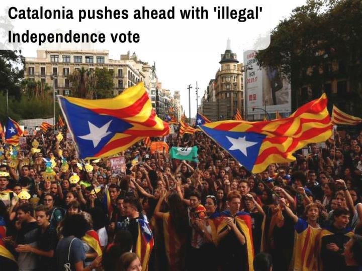 catalonia pushes ahead with illegal independence vote n.
