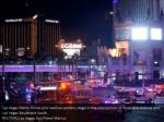 las vegas metro police and medical workers stage