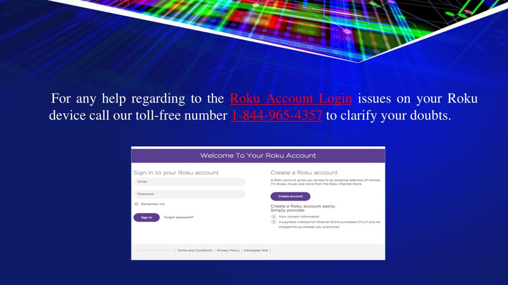 PPT - Roku Account Login Issues PowerPoint Presentation - ID