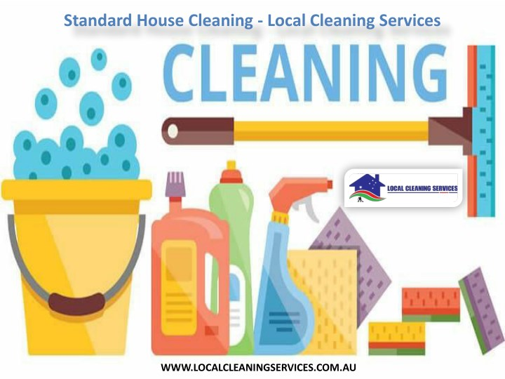 ppt - standard house cleaning