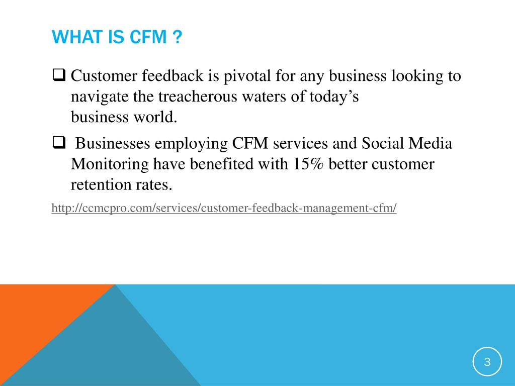 PPT - Customer Feedback Management System in Bahrain, India
