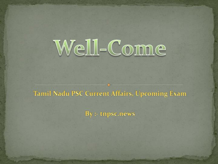 well come n.
