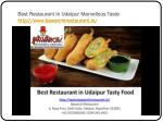 best restaurant in udaipur marvellous taste http www bawarchirestaurant in 7