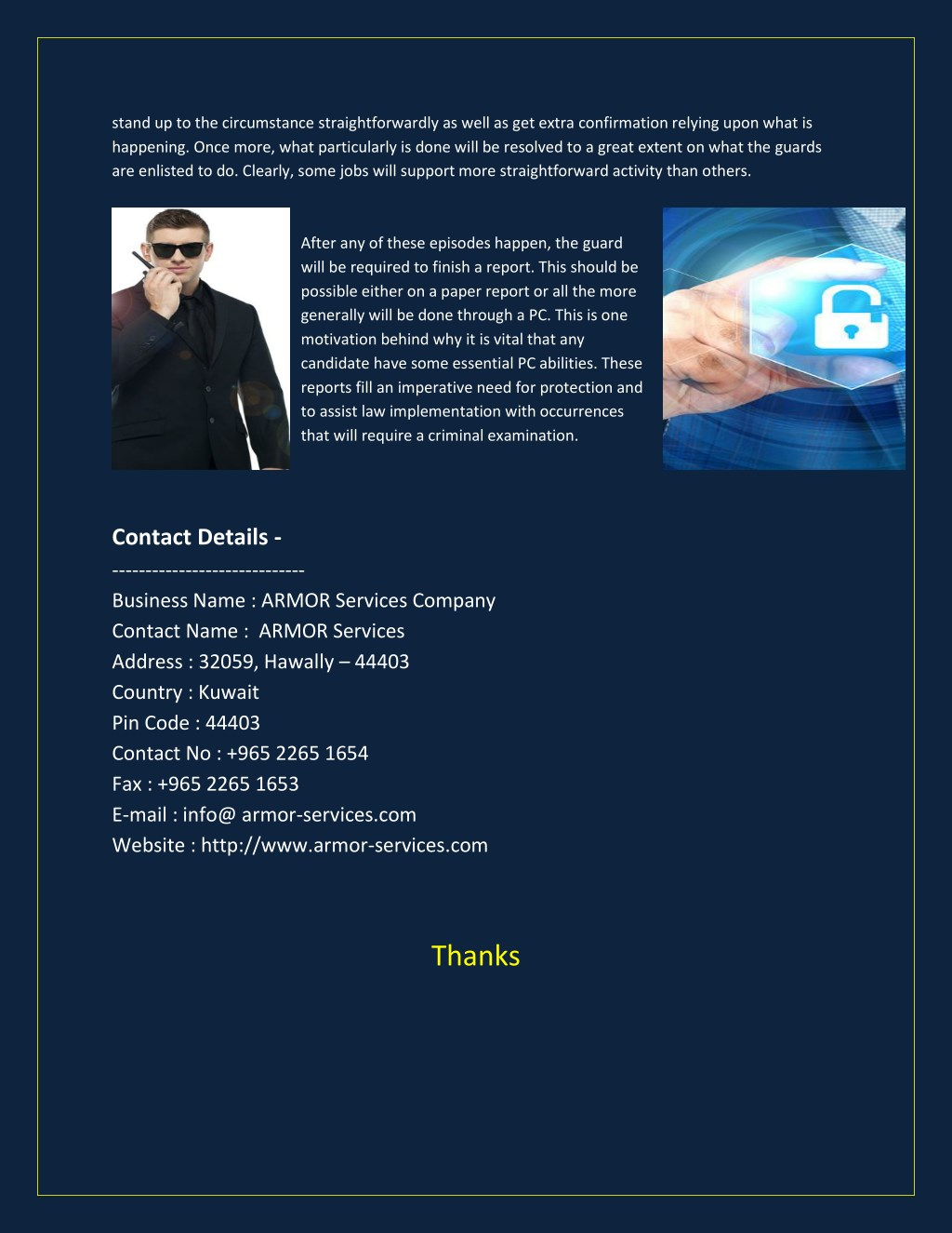 PPT - Security guard jobs in kuwait PowerPoint Presentation
