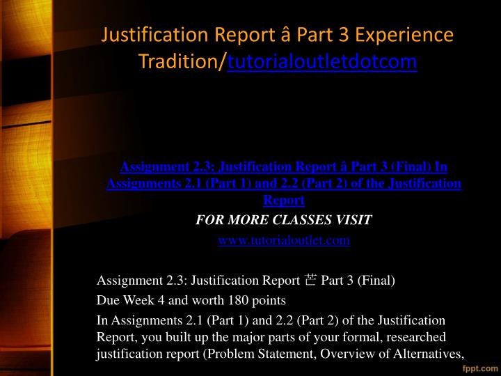justification report part 1 Reporting requirements when they propose rate increases for  1 of the  preliminary justification however, all part 1 files must be saved as an.
