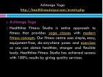 ashtanga yoga http healthlineudaipur com events php 2