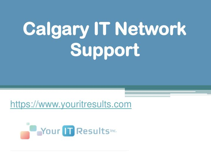 calgary it network support n.