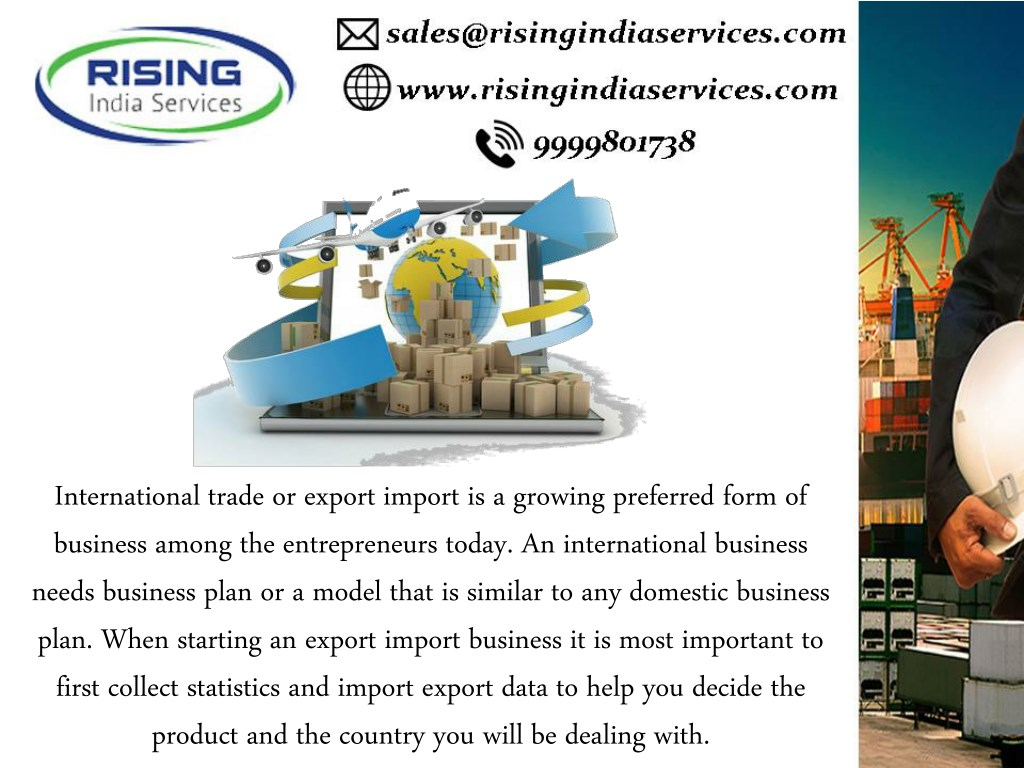 PPT - Export Import Data Global Trading Techniques