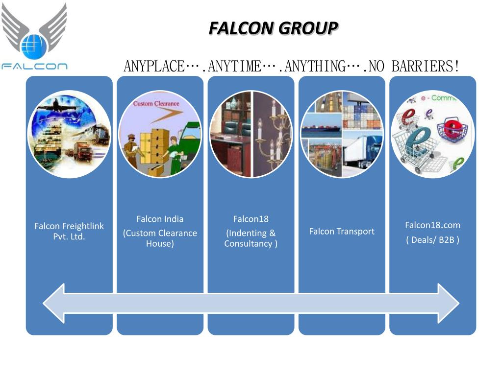 PPT - Falcon Freight PVT LTD custom clearing agent, freight