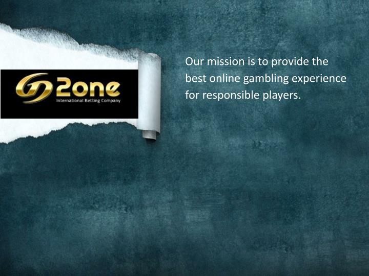 our mission is to provide the best online n.