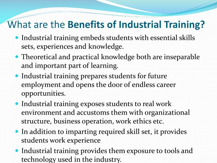industrial training ppt Mgic webinars are mortgage industry training designed to make work easier  our free workshops build customer service, presentation, sales and technical.