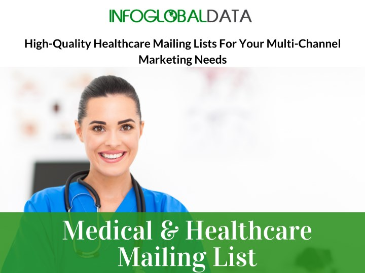 high quality healthcare mailing lists for your n.